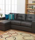 Gemona L Shape Sofa Brown