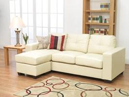 Gemona L Shape Sofa Ivory