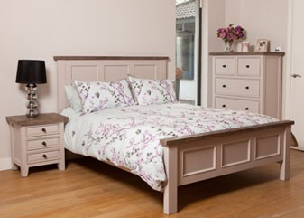 Wellington Bedroom - Cotton White