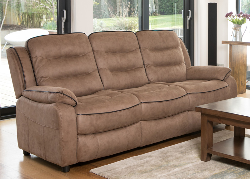 Dakota 3 Seater Fixed Furniture Link