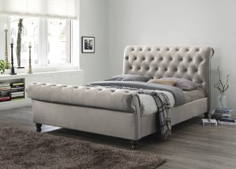 Grace Fabric Bed