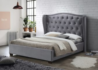 Lauren Fabric Bed